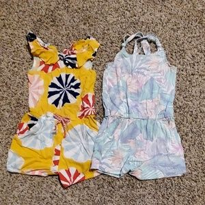 Girls rompers